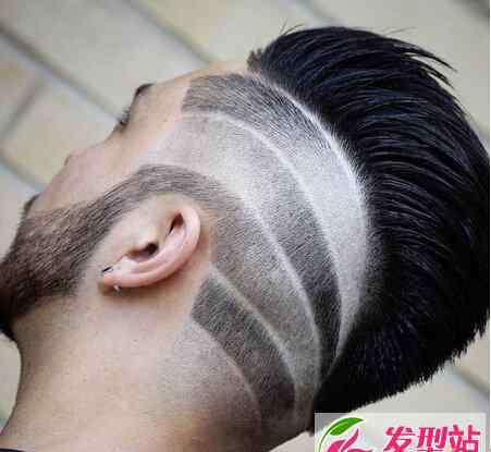 最漂亮的刀图片大全 男生刀疤痕雕刻发型大全 莫西干雕刻发型样式图片