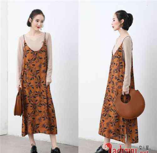 裙子搭配效果图 咖啡色裙子搭配图片集锦 揭咖啡色配什么颜色好看时尚