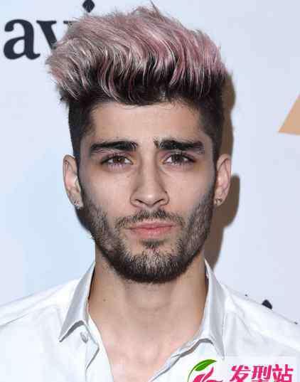 美渣 欧美型男染发发型图片 美渣Zayn发型参考