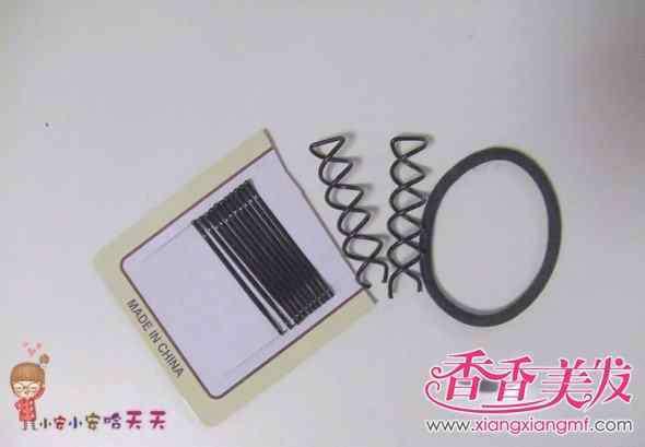 简单盘头发的方法 最简单好看的盘头发方法 简单盘头发的方法图解大全