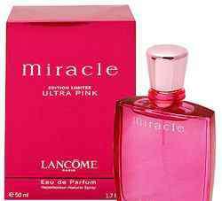 miracle香水 Lancome兰蔻Miracle Ultra Pink粉红奇迹女性香水