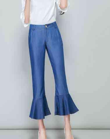 胖人穿什么裤子 夏天胖MM适合穿什么样的裤子 显瘦的裤子有这些