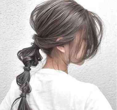 银色发型 银色头发适合什么肤色 黑色挑染银色效果图