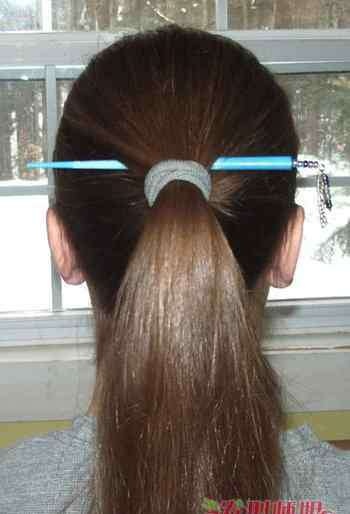 簪子的用法 长头发如何使用发簪 长头发簪子的用法