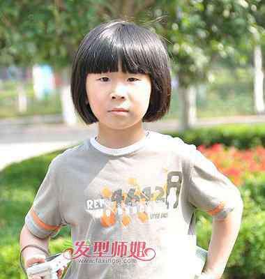 小学生短发发型图片 小学生女生短发发型 小学生发型图片大全
