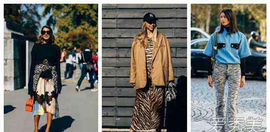 豹纹短外套搭配 2018年秋冬动物纹大火 人气第一的豹纹毛衣怎么搭配