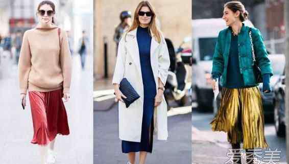 裙装搭配 今冬裙装大火 3种搭配穿出温暖感!