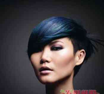 最新短发发型图片女 2018最新短发发型图片女 前长后短的女生发型图片