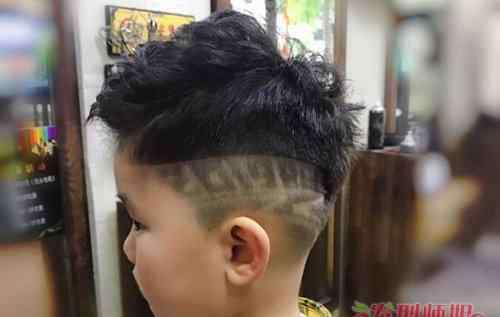 儿童闪电头发型 周围光光的发型小孩子能不能用 男童铲两边及后头发型剃法大全