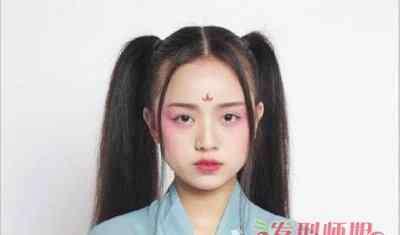 飞仙髻 教我做简单古代发型 古代发型扎法发髻