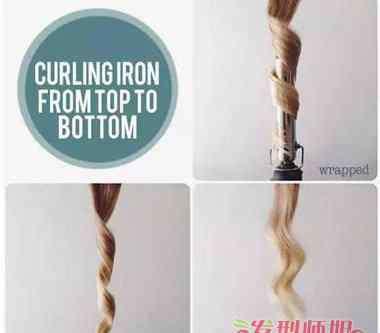 卷发棒使用技巧 9种传统卷发棒打造卷发技巧 新手也能搞定的卷发教程
