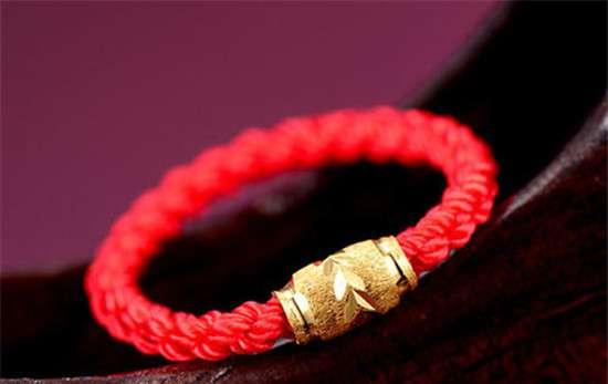 红绳编法大全 最简单一根红绳编法戒指图解 红绳这样编更好看