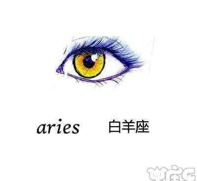 十二星座专属动漫眼睛 十二星座代表的动漫眼睛手绘图片,十二星座的眼睛类型图解