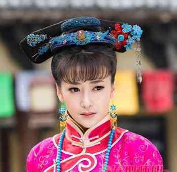 清朝女人照片 清朝女人发型 清代女子发型
