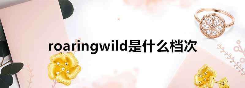 roaring roaringwild是什么档次