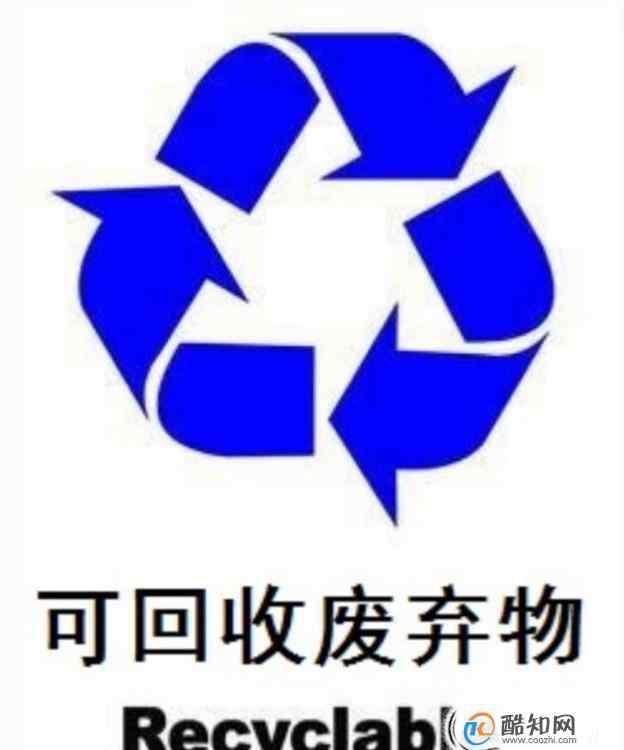 垃圾分类标志 认识垃圾分类标识