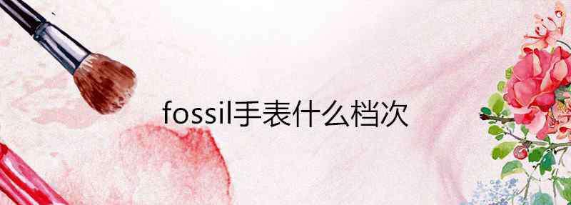 fossil手表品牌 fossil手表什么档次