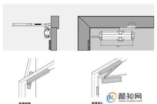 闭门器安装方法 闭门器的安装方法