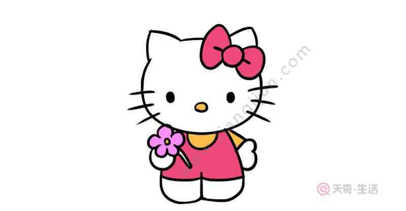凯蒂猫涂色 凯蒂猫涂色画