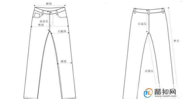 裤子尺码 裤子的尺码怎么算