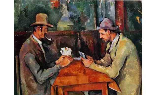 世界上最贵的画 十大世界最贵的画作 玩纸牌者位列榜首,价值20亿人民币