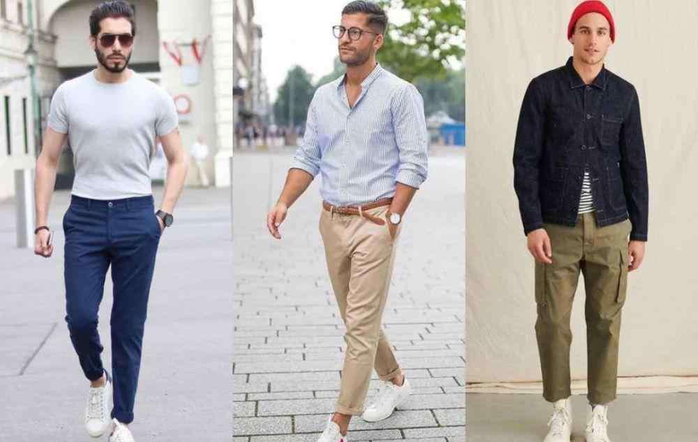 30岁男人休闲装搭配 男人过了30岁,只穿黑色裤子?这3种颜色也是时髦的选择