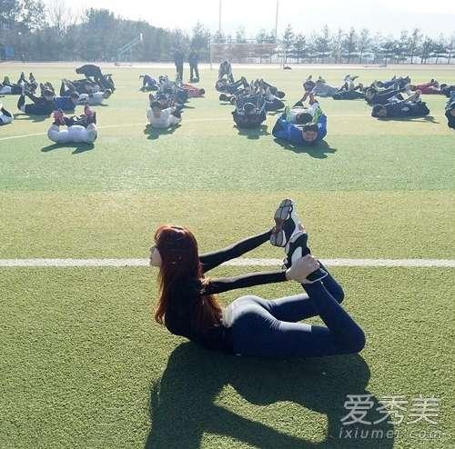 最美体育老师 韩国最美体育老师走红 魔鬼身材性感