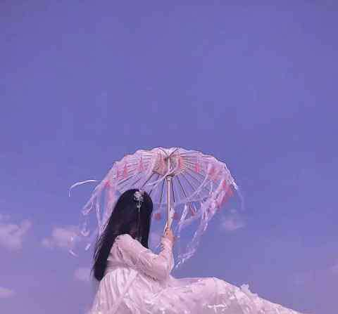 """女生半身仙女裙头像 最近火了""""仙女裙""""女生头像:爱的魔力转圈圈,想你想到心花怒放"""