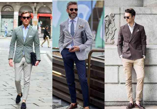40岁男人休闲装搭配 40岁男士穿搭什么类型服装比较大方上档次并且还帅气?