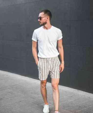 夏季男装搭配 男士夏季T恤搭配技巧有哪些,如何找到最适合自己的色系?