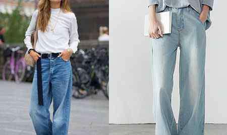 裤子款式图 牛仔裤款式图 教你时尚有范迷倒众人