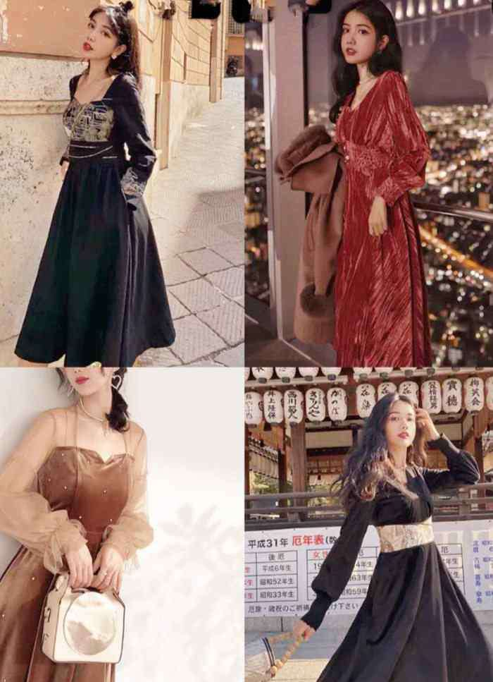复古连衣裙 春日怎能单调?邂逅复古连衣裙,气质就是不一般