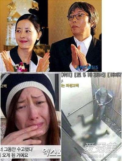 徐贞姬 女星遭丈夫家暴32年 老公电梯内施暴画面流出