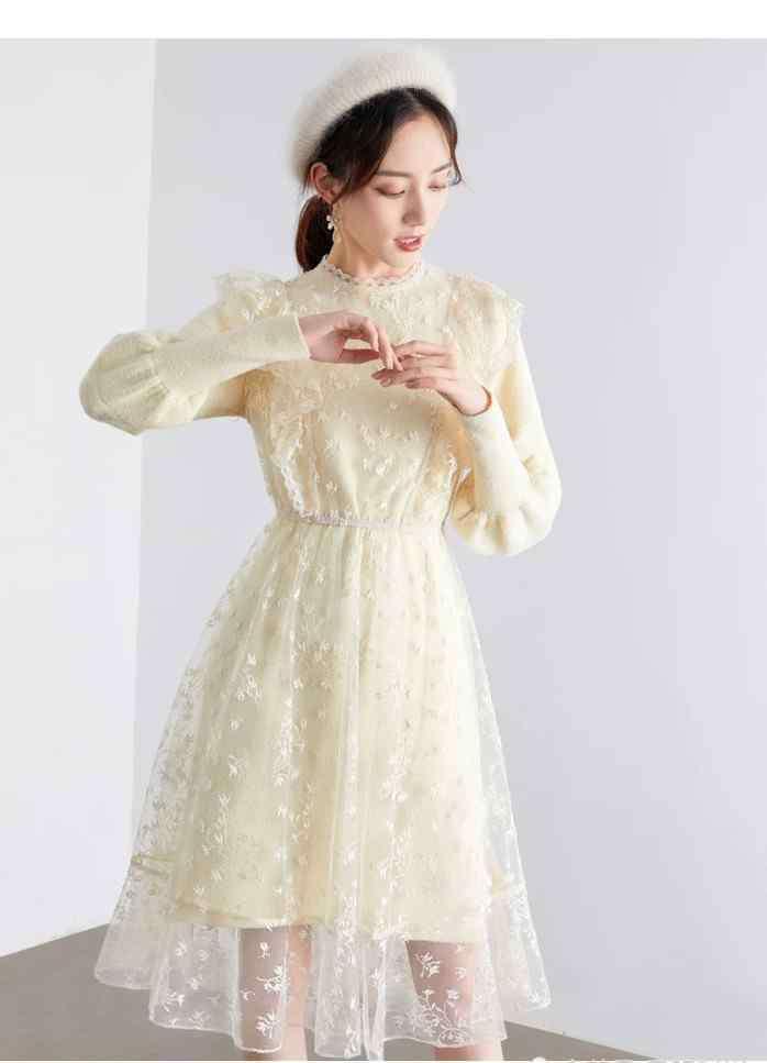秋冬连衣裙 秋冬的保暖连衣裙赶紧穿起来,这18款也太漂亮了吧!