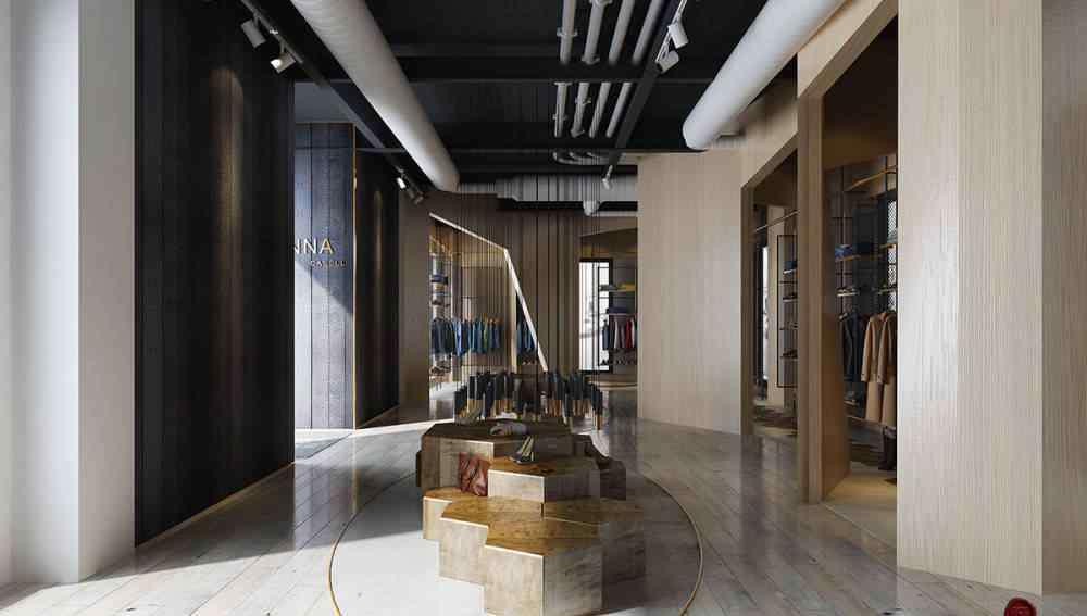 服装店设计 服装店设计 再造设计