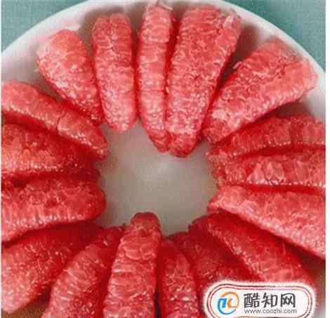 怎么剥柚子 网红剥柚子皮怎么剥?