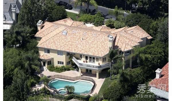 好莱坞明星豪宅 走进8大好莱坞明星的千万豪宅