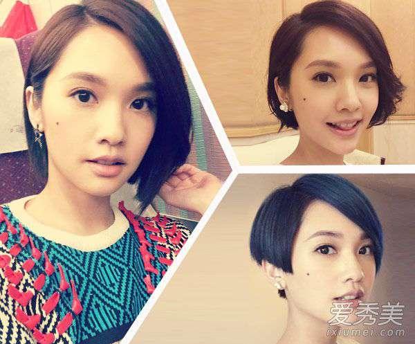 杨丞琳的图片 杨丞琳短发发型图片 告诉你短发也百变
