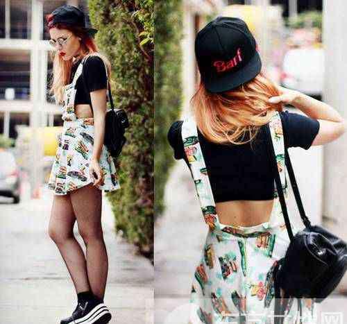 街头俏妞 今夏随性混搭风最时尚 街头俏妞教你怎么穿的有范儿