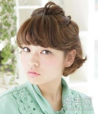 日系甜美 日系甜美发型扎法 编出小清新气质