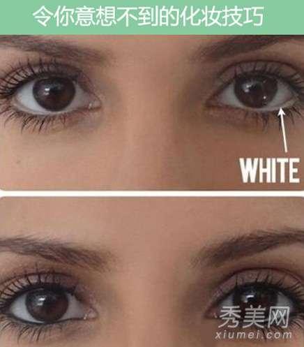 眼线笔怎么用 白色眼线笔怎么用? 如何化妆眼睛大