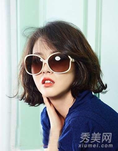 韩式短卷发 外翘短发最时髦 9款韩式短卷发帅气有气质