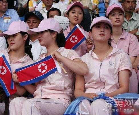 朝鲜美女图片 实拍朝鲜女人图片 不穿裤子已过时