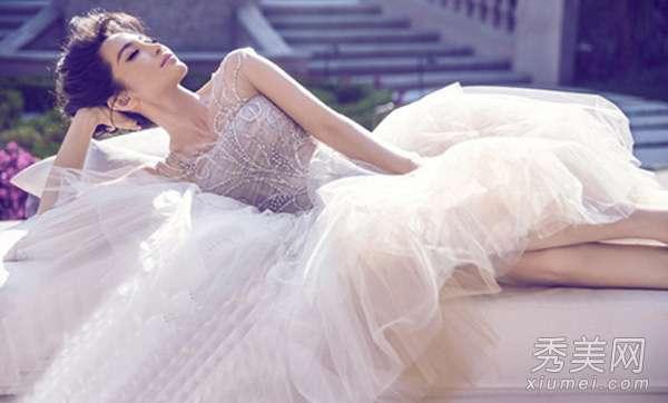 穿婚纱最美的女星 中韩女星婚纱照PK 章子怡全智贤最美