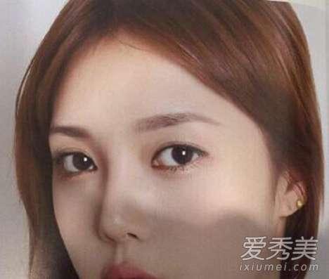 圆脸眉毛 圆脸适合什么眉毛? 真人示范圆脸眉形画法