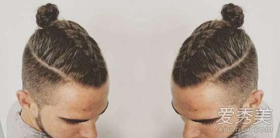 男生辫子发型 当下最火男士发型 男神都在编辫子