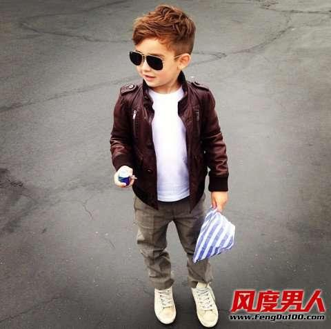 儿童衣服搭配 美国儿童穿衣搭配 5岁小男孩潮拍