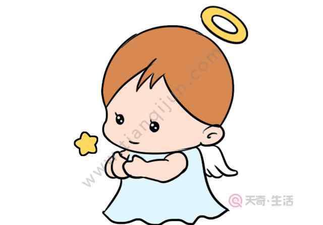 天使怎么画 天使怎么画