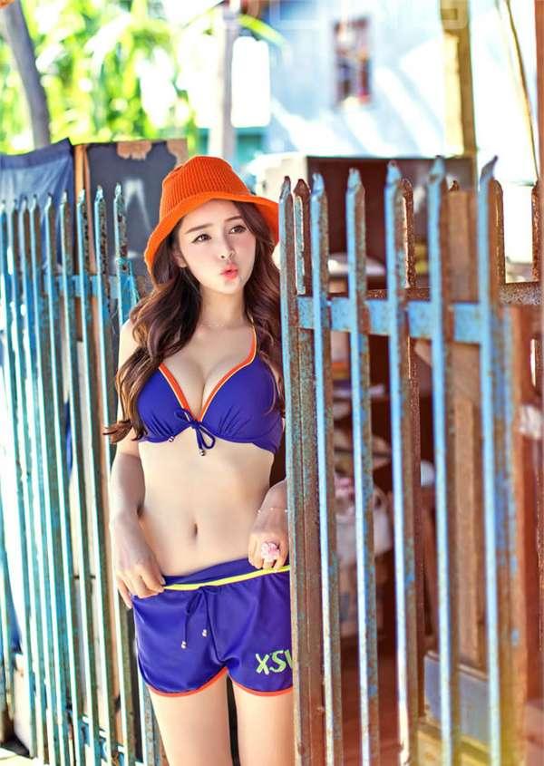 中国比基尼美女图片 比基尼美女图片透明的 迷人身段比基尼美女