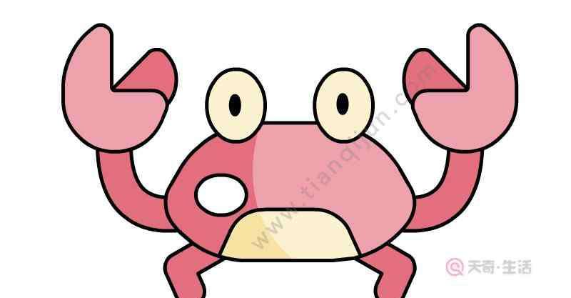 画螃蟹最简单画法 螃蟹简笔画怎么画  怎么画螃蟹简笔画